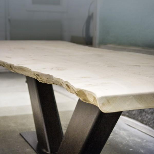 tafel esdoornhout